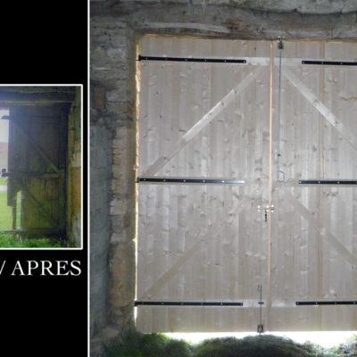 fabrication porte de grange (1)