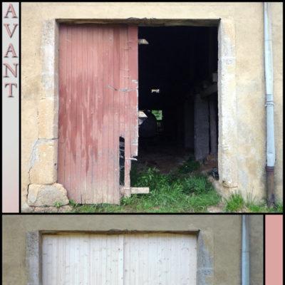 fabrication porte de grange (2)