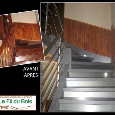 rénovation escalier Le Fil du Bois (15)