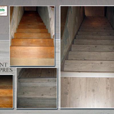 rénovation escalier Le Fil du Bois (1bis)
