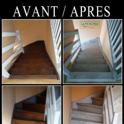 rénovation escalier Le Fil du Bois (2)