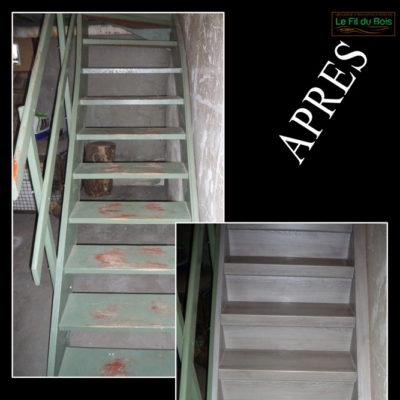 rénovation escalier Le Fil du Bois (3)