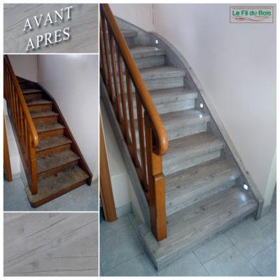 rénovation escalier Le Fil du Bois (5)